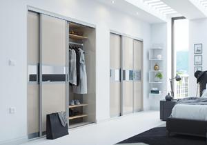 Sliding wardrobe image & Glide Sliding Doors - HPP