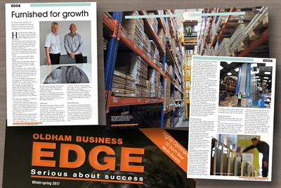 Email Attachment for Event No. 19945 ( HPP features in the Oldham Business Edge Magazine )