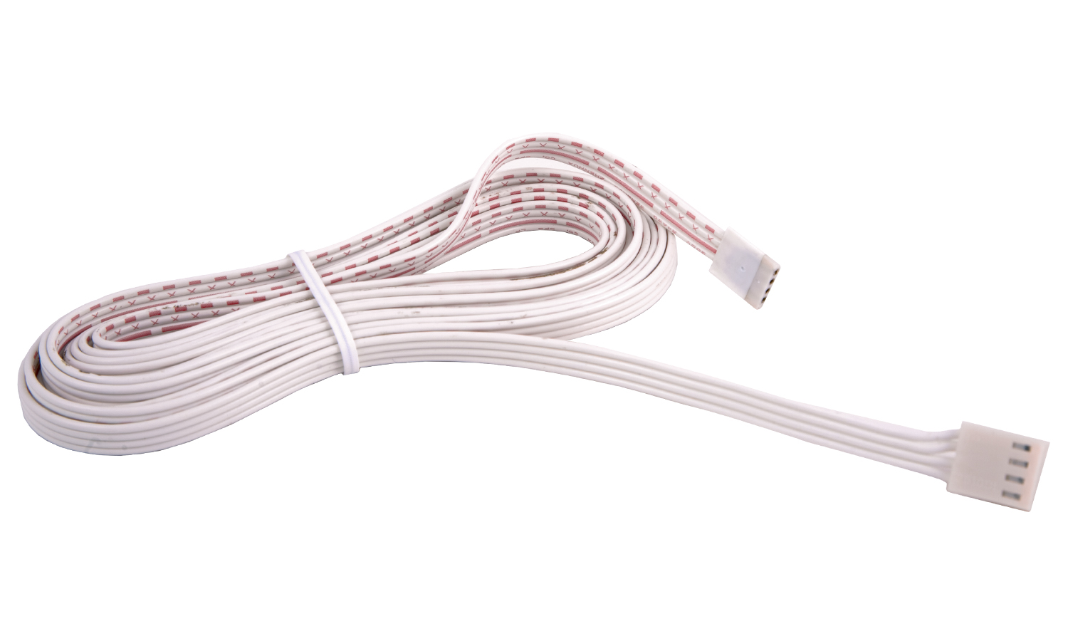 LED RGB flexible strip connector and lead, 2.5m