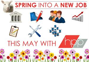 Spring into your ideal job with HPP this May!
