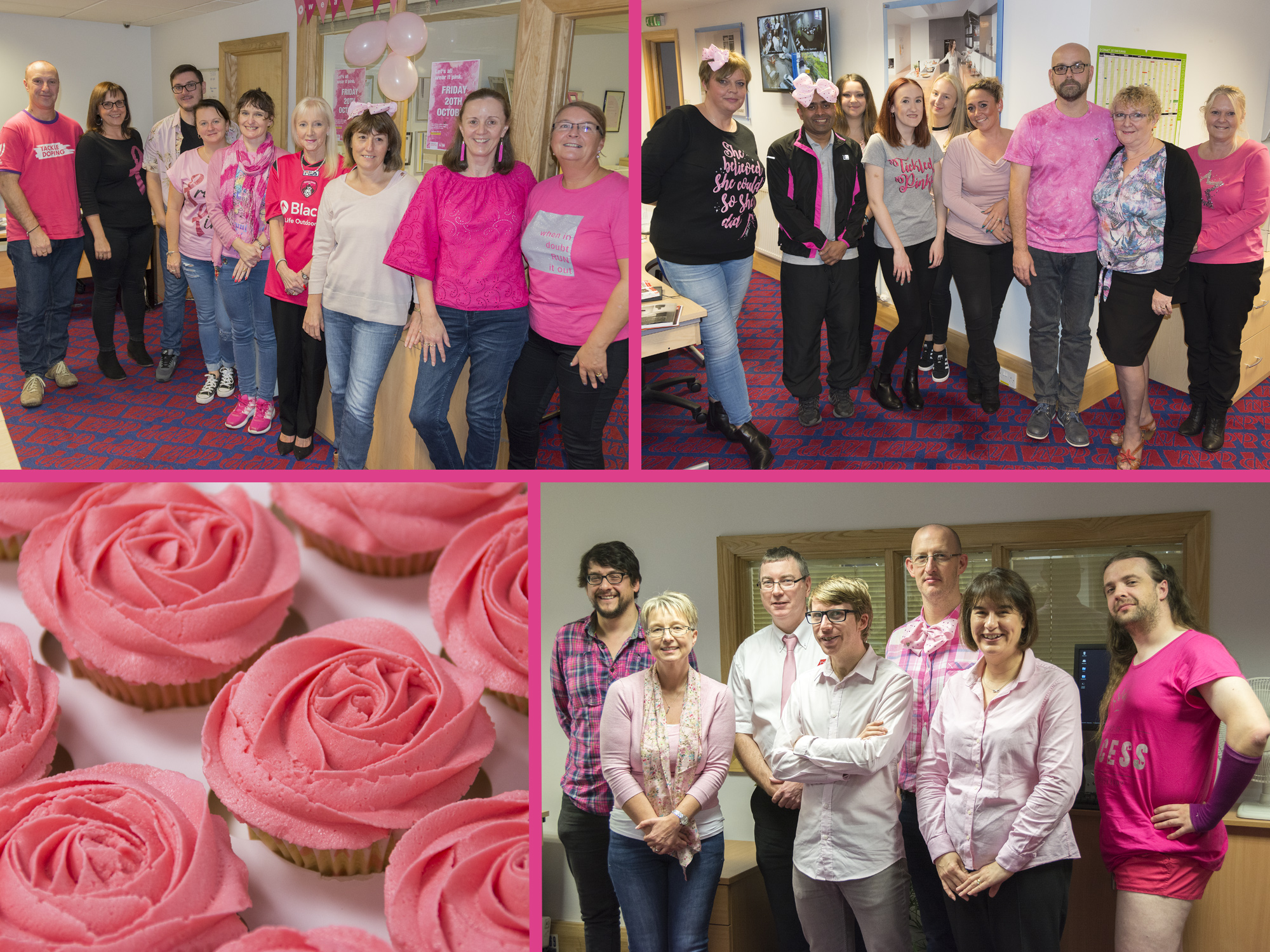 HPP turns pink for cancer charity day