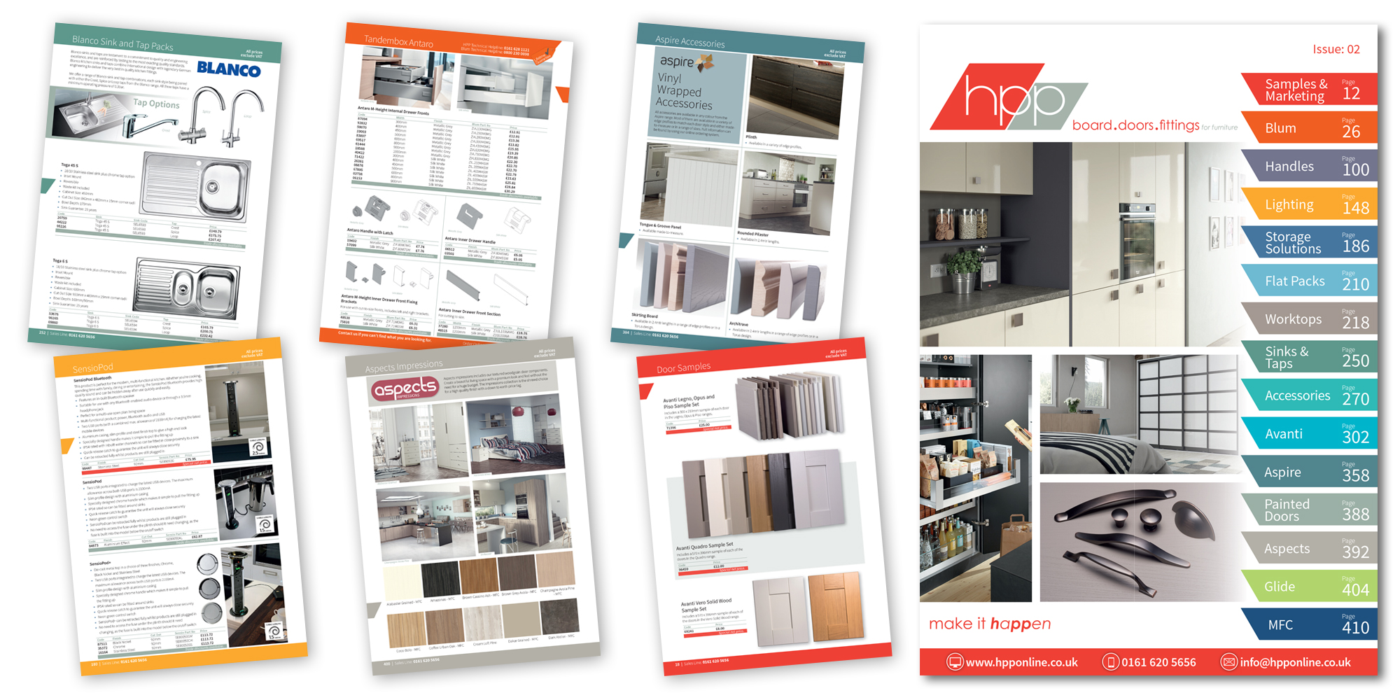 New HPP Trade Catalogue & Handles Brochure are launched!