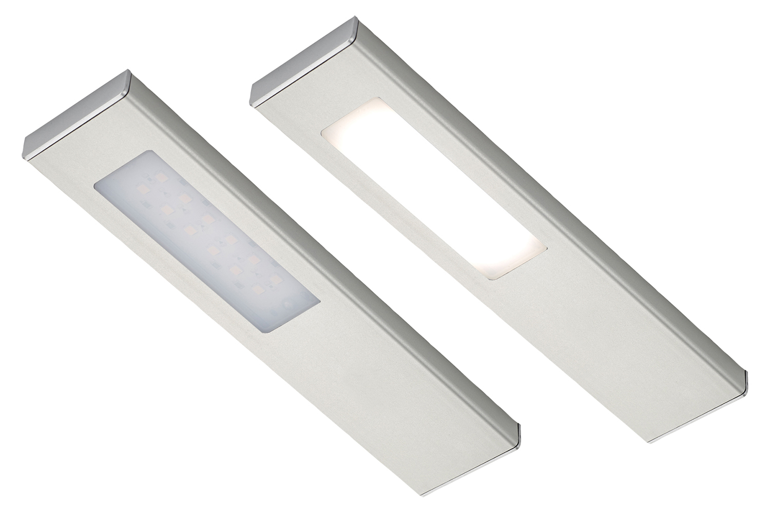 Sensio SLS Quadra LED Under / Over Cabinet Light Warm White - 2 Light Kit