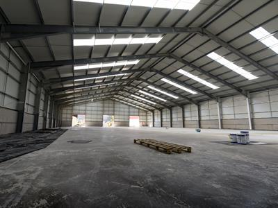 Email Attachment for Event No. 25328 ( Our New 19,000 Sq. Ft. Warehouse is Taking Shape… )