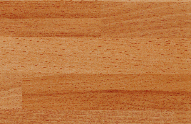 Bushboard Worktop Clear Beech Block Ultramatt 4100 x 665 x 38mm