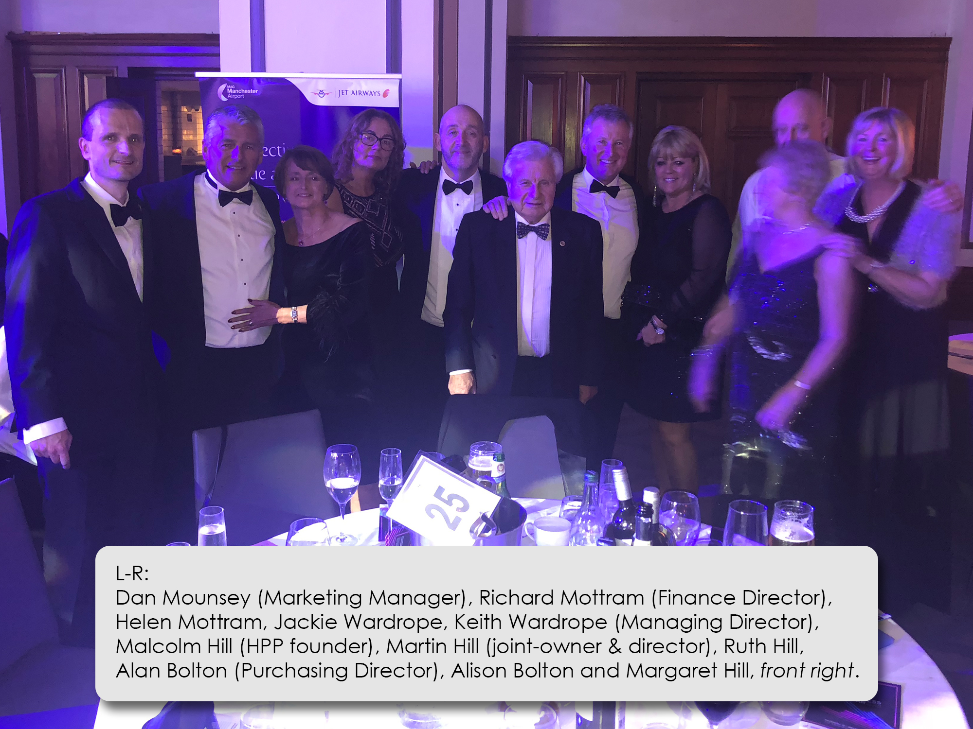 HPP at the MEN Business of the Year Awards