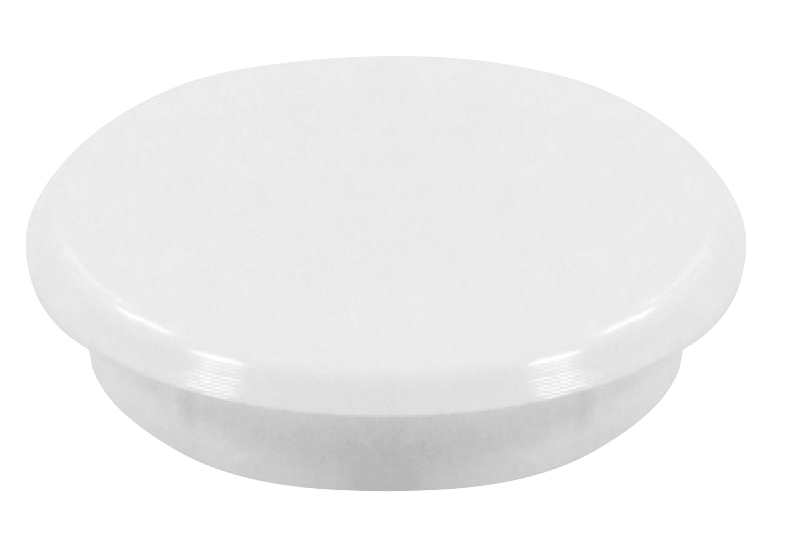 Hinge hole cover cap - 35mm White