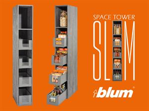 Introducing the Blum SPACE TOWER SLIM