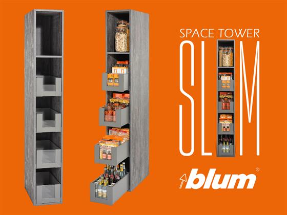 Email Attachment for Event No. 30619 ( In a bit of a squeeze? Introducing the Blum SPACE TOWER SLIM )