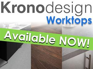 New Kronodesign Worktop Range: Now Available!