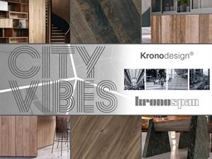 City Vibes Captured In New Kronodesign Trends Collection