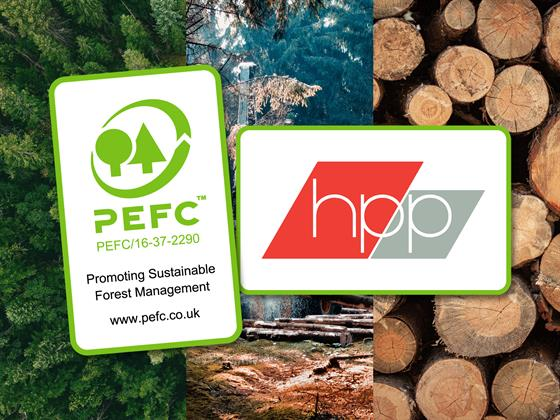 Email Attachment for Event No. 33170 ( HPP Achieves PEFC Chain of Custody Certification )