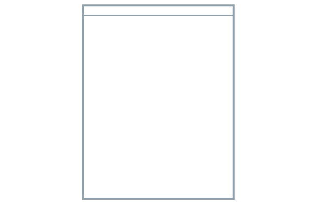 Avanti Legno Horizontal Grain 22mm Door, Coral White 1245 x 496mm