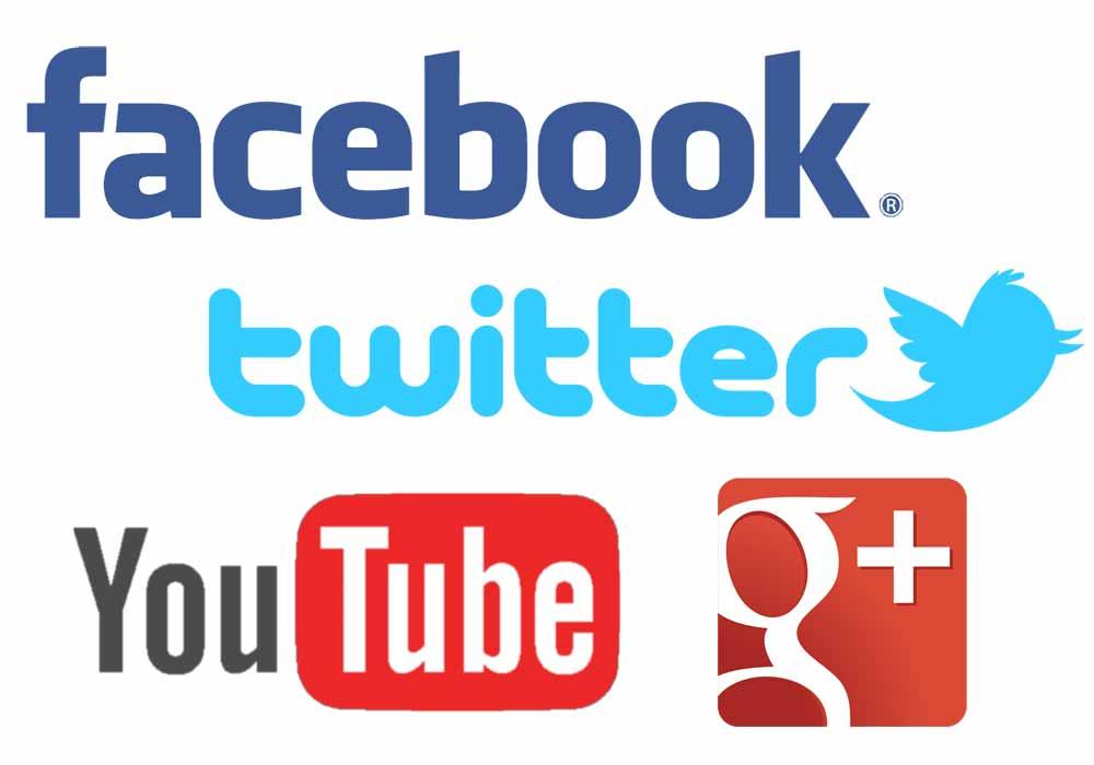 Social media networks.