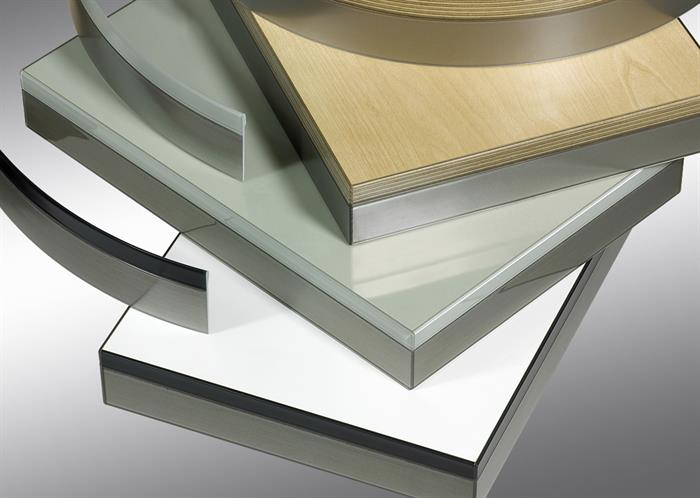 3D style ABS edging tapes - Designed to give a glass effect finish to panels and doors