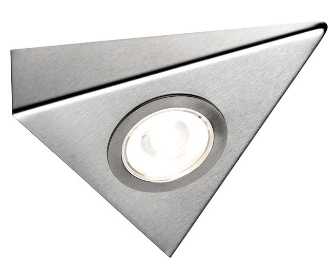 Sensio Titon COB Triangle Light Stainless steel Warm White