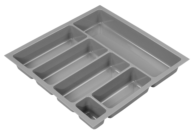Tandem metallic cutlery insert w414 x d422mm to fit 500mm Antaro