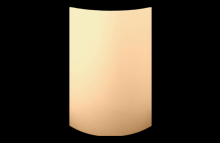 High Gloss Sand Beige Vienna Curved Doors