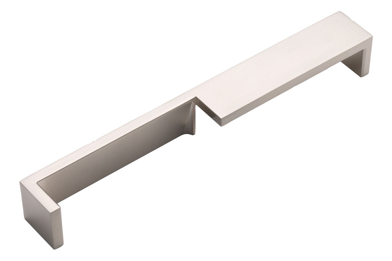 Aguila handle, brushed nickel 192mm centres