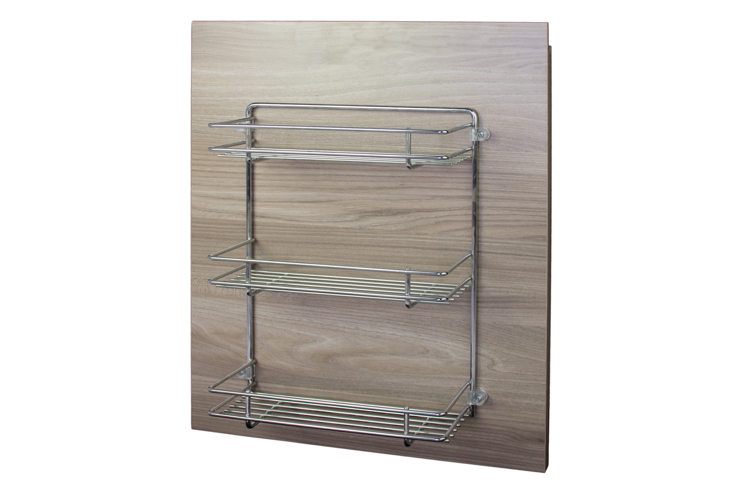 Wirework. Door Accessory Unit With Three Baskets And Fixing Kit