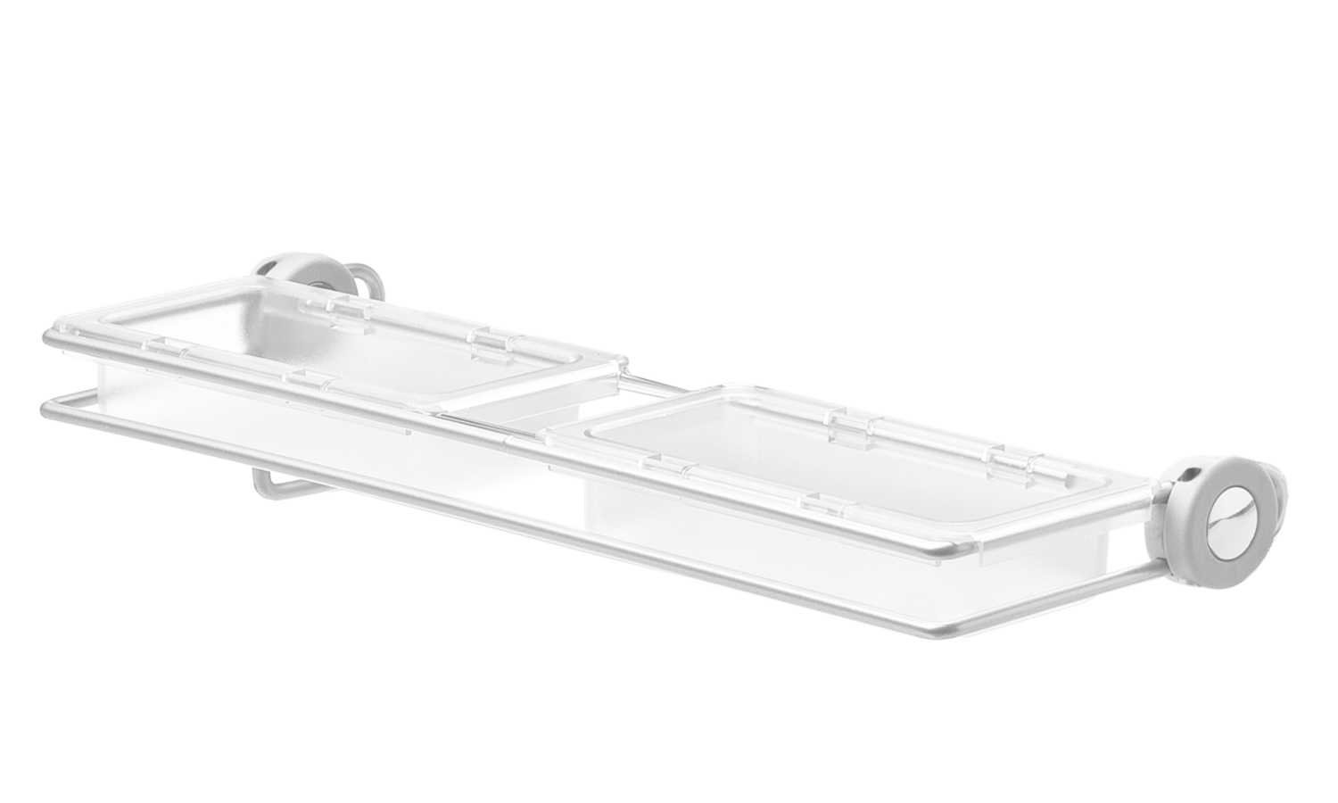 Elite Multipurpose tray for pull out pivoting mirror, White