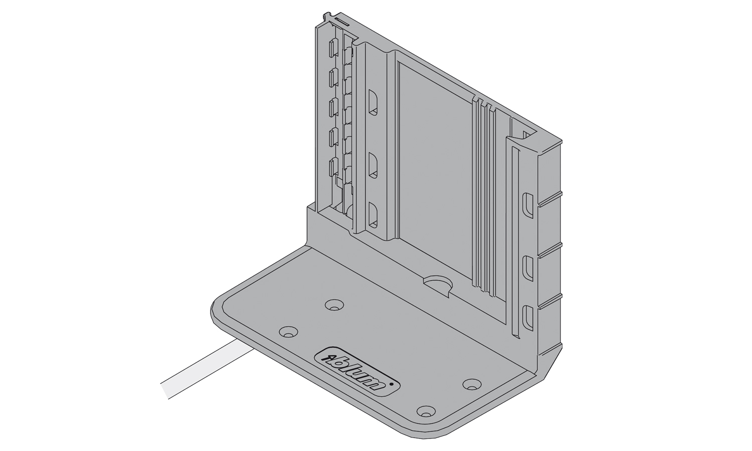 Blum Servo-Drive 2 tier drive unit bracket with 80cm of cable